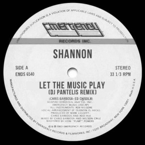Shannon - Let The Music Play (DJ Pantelis Remix)