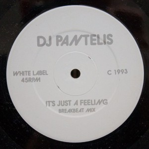 DJ Pantelis - It's Just A Feeling [1993]